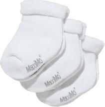 Maximo babysokker 3-pack - Hvite
