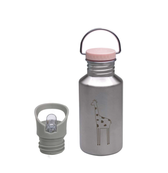 Bottle Stainless Steel, Safari Giraffe